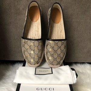100% Authentic GG Supreme Bees Espadrille